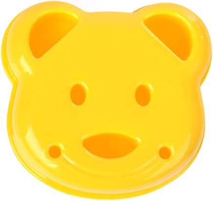 Anself Sandwich Cutter DIY Mold Cute Bear Shape Bread Embossed Tools Happy Lunchtime Appetite Improver