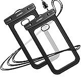UGREEN wasserdichte Handyhülle 2 Stück Handy Tasche wasserfest Handy Hülle kompatibel mit iPhone
