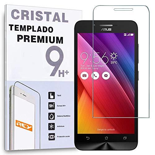 REY Protector de Pantalla para ASUS ZENFONE GO 5' ZC500TG Cristal Vidrio Templado Premium