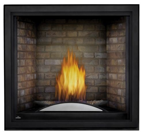 Learn More About Starfire NG Fireplace w/Fire Cradle, Standard Barrier & Newport Panels