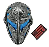 Tactical Full Face Protection Knight Mask Templar (Blue)