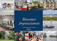 Buesumer Impressionen (Wandkalender 2022 DIN A4 quer): Impressionen aus Buesum an der Nordsee (Monatskalender, 14 Seiten )