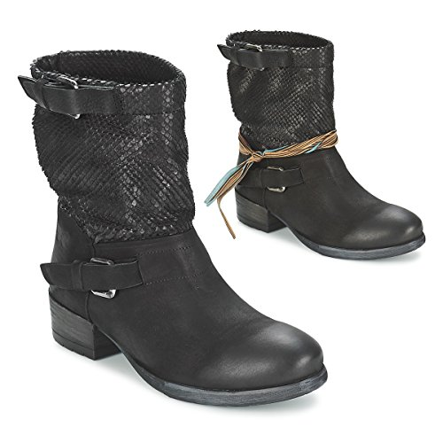 Felmini Rarsa Stiefelletten/Boots Damen Schwarz - 40 - Boots Shoes