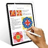 SPARIN 2 Stück Matte Schutzfolie Kompatibel mit iPad Pro 12.9 2021/2020, Keine Blendung, Papierstruktur, Matte PET Folie