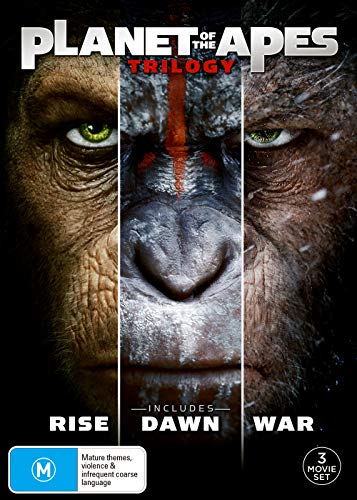 Planet Of The Apes Trilogy | Rise, Dawn & War | NON-USA Format | Region 4 Import - Australia