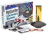 FRANZIS Die große Abenteuer-Box Optische Experimente und Illusionen: Lochkamera, Hologramme und spannende Dinge aus der Welt des Lichts | Ab 8 Jahren