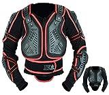 MONMOUTH STAR hombres motocicleta motocross cuerpo armadura de seguridad protector de columna vertebral MTB Racing guardia chaqueta
