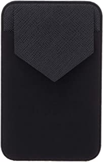 JENOR Elastic Mobile Phone Wallet Credit ID Card Holder Adhesive Pocket Sticker Case