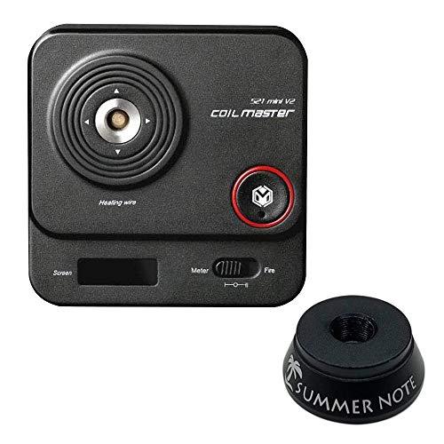 SUMMER NOTE Coil Master 521 mini Tab V2 正規品 電子タバコ専用オームメーター 多機能オムニテスター オリジナルアトマイザースタンド付き