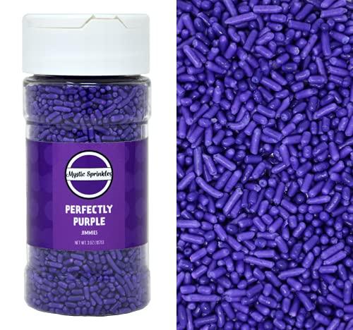 Purple Jimmies Sprinkles