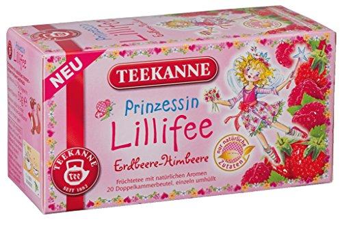 Teekanne - Prinzessin Lillifee Erdbeere-Himbeere - 20 Beutel/55 g