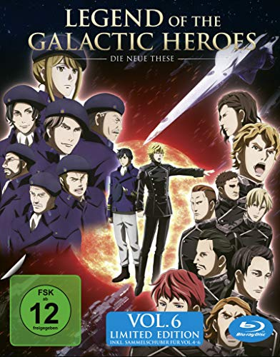 Legend of the Galactic Heroes: Die Neue These Vol. 6 + Sammelschuber  (Limited Edition) [Blu-ray]