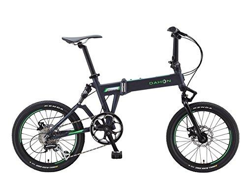Dahon Jetstream P8-Bicicleta Plegable, Color Gris Mate