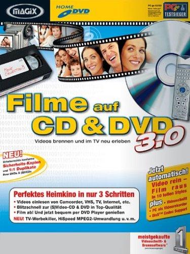 MAGIX Filme auf CD & DVD 3.0