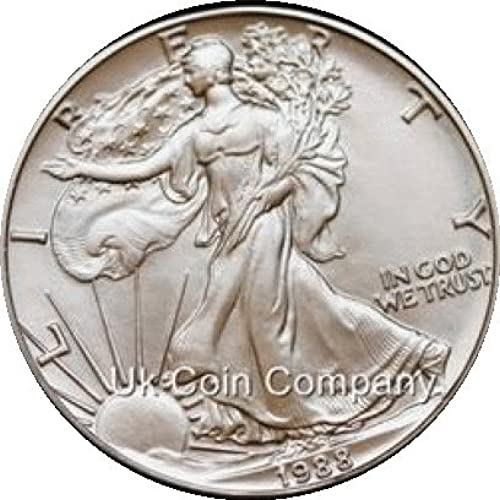 1988 America 1oz argent Eagle Coin