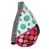 KAVU Paxton Pack Rope Sling Crossbody Bag - Watermelon