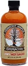 Vermont Maple Sriracha Very Hot All Natural Habanero Hot Sauce
