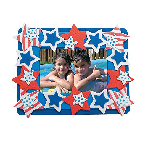 Patriotic Picture Magnet Craft Kit - Crafts for Kids and Fun Home Activities