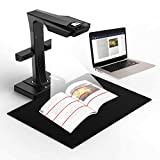CZUR ET16 Plus Advanced Book & Document Scanner, 2nd Gen Auto-Flatten&Deskew Tech, 16MP Sony Camera, Capture A3, 186 Languages OCR, Convert to PDF/Searchable PDF/Word/Tiff/Excel, Run On Windows&MacOS