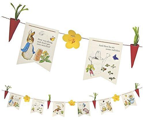Meri Meri, Peter Rabbit Party Garland, DIY Birthday, Party Decorations