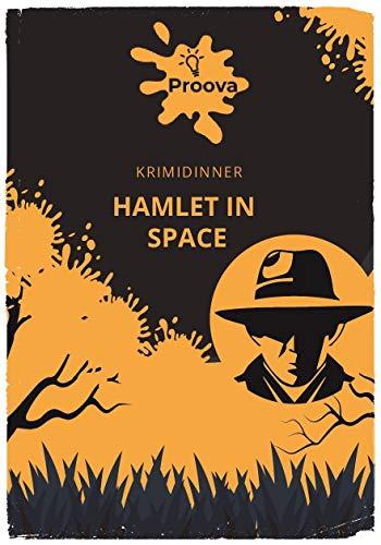 Krimidinner 4 Personen für Zuhause Hamlet in Space