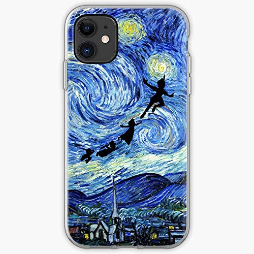 Mfkrwxx Peter Fractal Pan Cult Fantasy Wendy Neverland Movie Pure Clear PhoneCases Cover iPhone 12/11 PRO Max 12 Mini SE X/XS Max XR 8 7 6 6s Plus