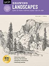 Drawing: Landscapes with William F. Powell: Learn to draw outdoor scenes step by step (How to Draw & Paint)