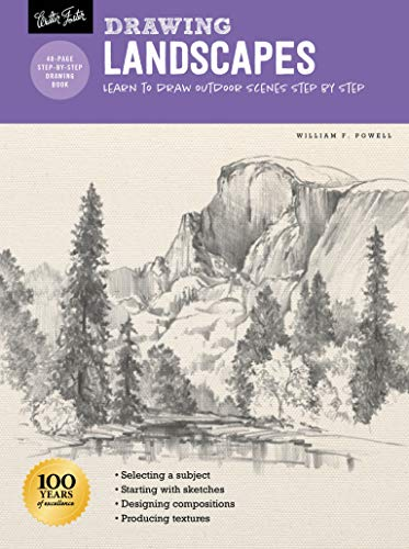 Compare Textbook Prices for Drawing: Landscapes with William F. Powell: Learn to draw outdoor scenes step by step How to Draw & Paint Revised Edition ISBN 9781633228405 by Powell, William F.