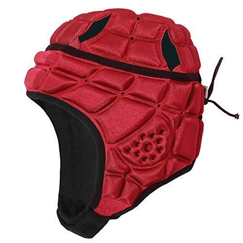 Lixada Kids Rugby Helmet Headguard Headgear Soft Shell Protective Headgear Impact Collision Protection Child\'s Head Ear Chin jaw