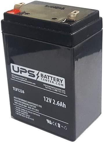 Solar Stone Portable Speaker Compatible Replacement Battery by UPSBatteryCenter (Replaces TELONG TL1223)