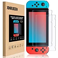 ❤ [Specifically Design]: 6.2 inch 0.3mm tempered glass screen protector is only compatible with Nintendo Switch screen, which is different size as another device nintendo switch lite. BTW, we also have screen protector for switch lite. please make su...