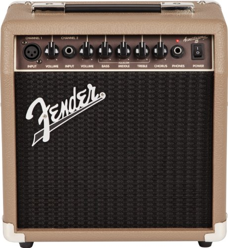 Fender Acoustasonic 15 – 15 Watt Acoustic Guitar Amplifier