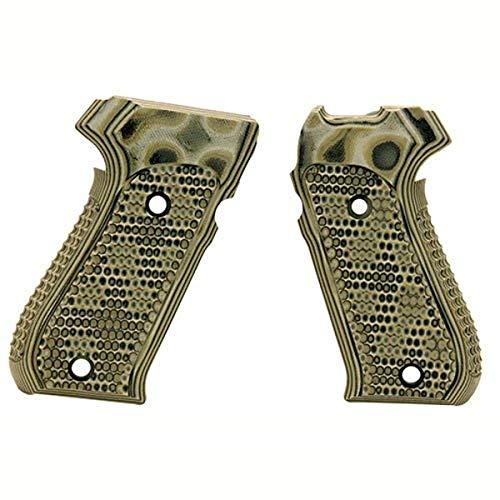 Hogue 20138 Sig P220 American Grips, Pirahna G-10 G-Mascus Green