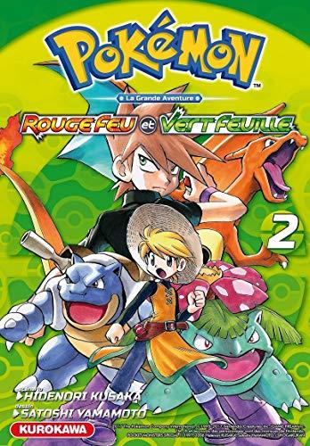 Pokémon rouge feu et vert feuille/emeraude - tome 2 - vol02 (Pokemon)