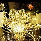 妖精ストリングライト、200個のLED銅線ライト、クリスマスツリーパーティー結婚式イベント庭園誕生日のために防水の装飾 Warm White