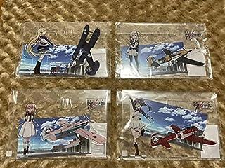 戦翼のシグルドリーヴァ アクリルジオラマ アクリルスタンド クラウディアブラフォード 六車宮古 駒込アズズ 渡来園香
