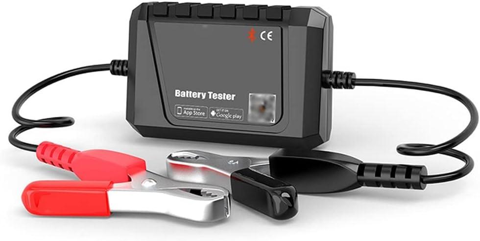 ZZABC BT500 Auto Battery Probador Bluetooth 12V Coche Circuito eléctrico Circuito de Arranque Analizador de Prueba de Prueba Tester de Carga para Android/iOS