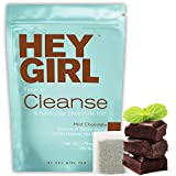 Detox Tea - Mint Chocolate Flavored Cleanse for Women with a Sweet Tooth - Herbal Tea to Reduces Bloating & Helps Your Body Stay Regular - Keep Your Colon Happy Healthy with Hey Girl Tea
