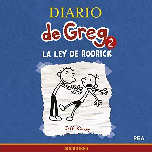 Diseño de la portada del título Diario de Greg 2. La ley de Rodrick
