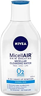 NIVEA Micellar Cleansing Water, Skin Breathe MicellAIR, 400ml