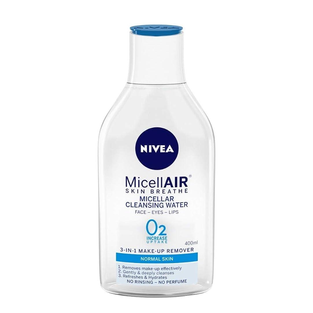 自我ペルセウスペルセウスNIVEA Micellar Cleansing Water, MicellAIR Skin Breathe Make Up Remover, 400ml