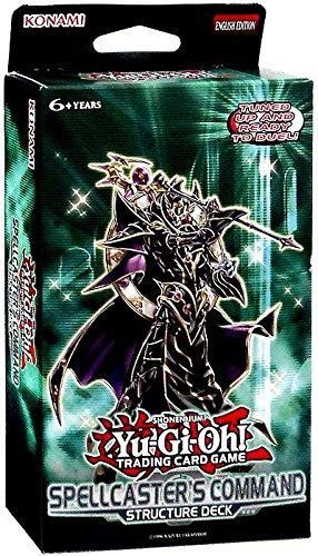 YuGiOh 5D's Spellcaster's Command English Structure Deck [Unlimited Edition]