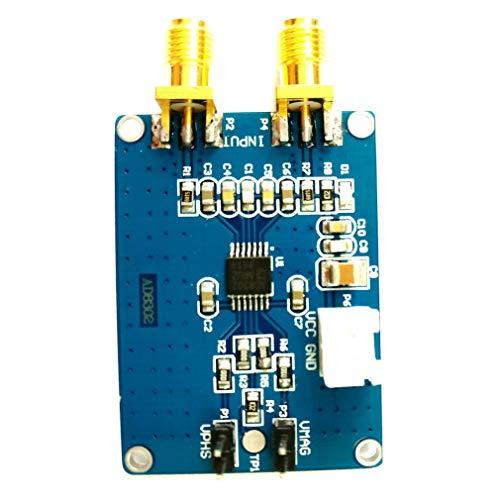 AD8302 Amplitudenphasendetektionsmodul 2,7 GHz HF/ZF-Phasendetektor 5 V Blau