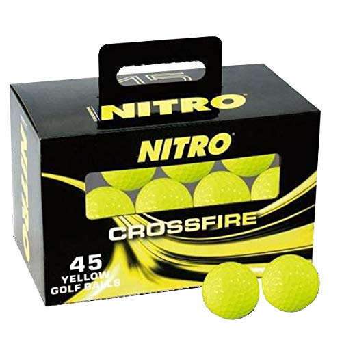 Nitro Crossfire 45 Ball Pack - Yellow