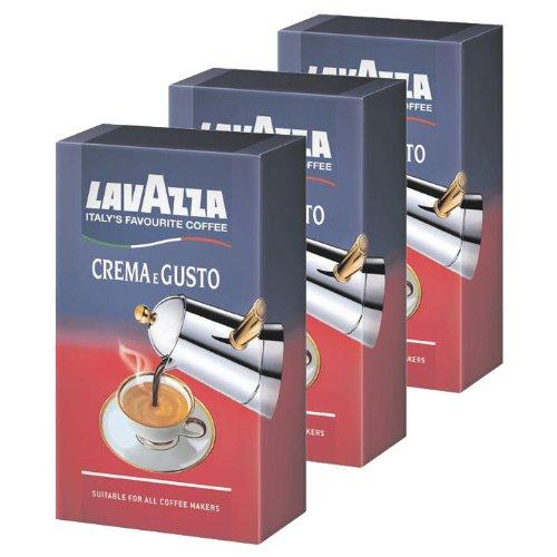 Lavazza Crema E Gusto, Café moulu,...