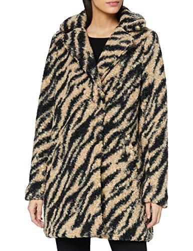 NOISY MAY NMGABI L/S Jacket S Chaqueta, Negro/Zebra, L para Mujer
