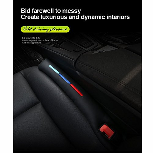 Kunstleder Autositz-Lückenfüller, Abstandshalter, Stopfen für ///M (2 Stück)