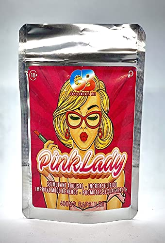 Pink Lady (3X 400mg Capsules) Strong Natural Ginseng Supplement for Women....