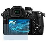 atFoliX Lámina Protectora de Pantalla Compatible con Panasonic Lumix GH5 Película Protectora, Ultra Transparente FX Lámina Protectora (3X)