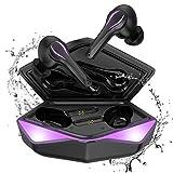 Cuffie Bluetooth Gaming senza fili in-ear, Kingstar...